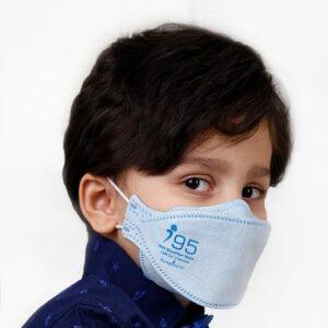 ماسک تنفسی نانو مدل فیش سایز نوجوان رسپینانو N95 – بسته ۲۵ عددی Fish Type Small-Sized N95 Face Mask –